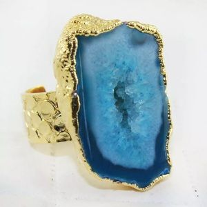 Jewelry - Blue Geode Ring
